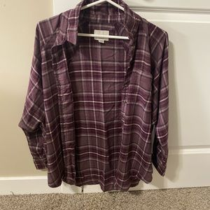american eagle oversized flannel